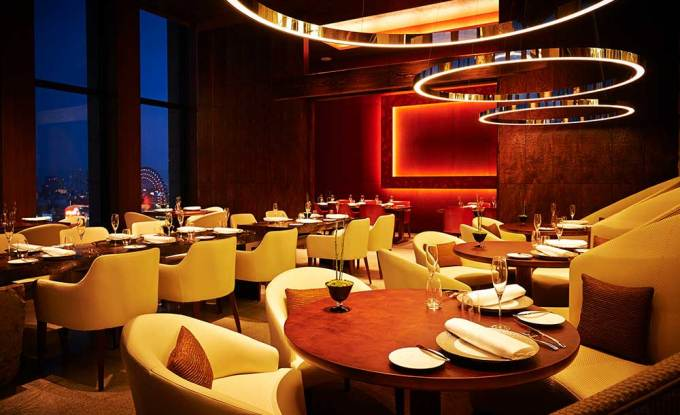 「インターコンチネンタルホテル大阪 フレンチレストランピエール」の画像検索結果