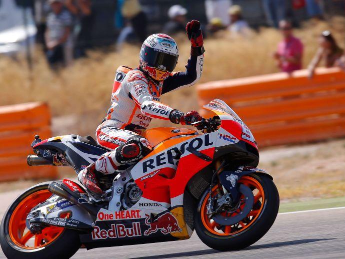 2016 OZ devient membre de l'équipe officielle Honda HRC MotoGP, fournissant les roues du champion du monde Marc Marquez.