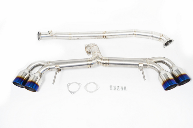 Agency Power Titanium Exhaust System 90mm Piping With