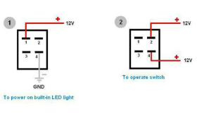 How to Wire 4 Pin LED Switch | 4 Pin Led Switch Wiring