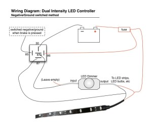 How To Wire Tail Light On Motorcycle | Led Brake Lights