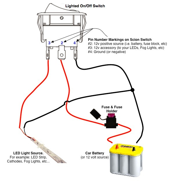 Without Bar Light How Wire Led Relay