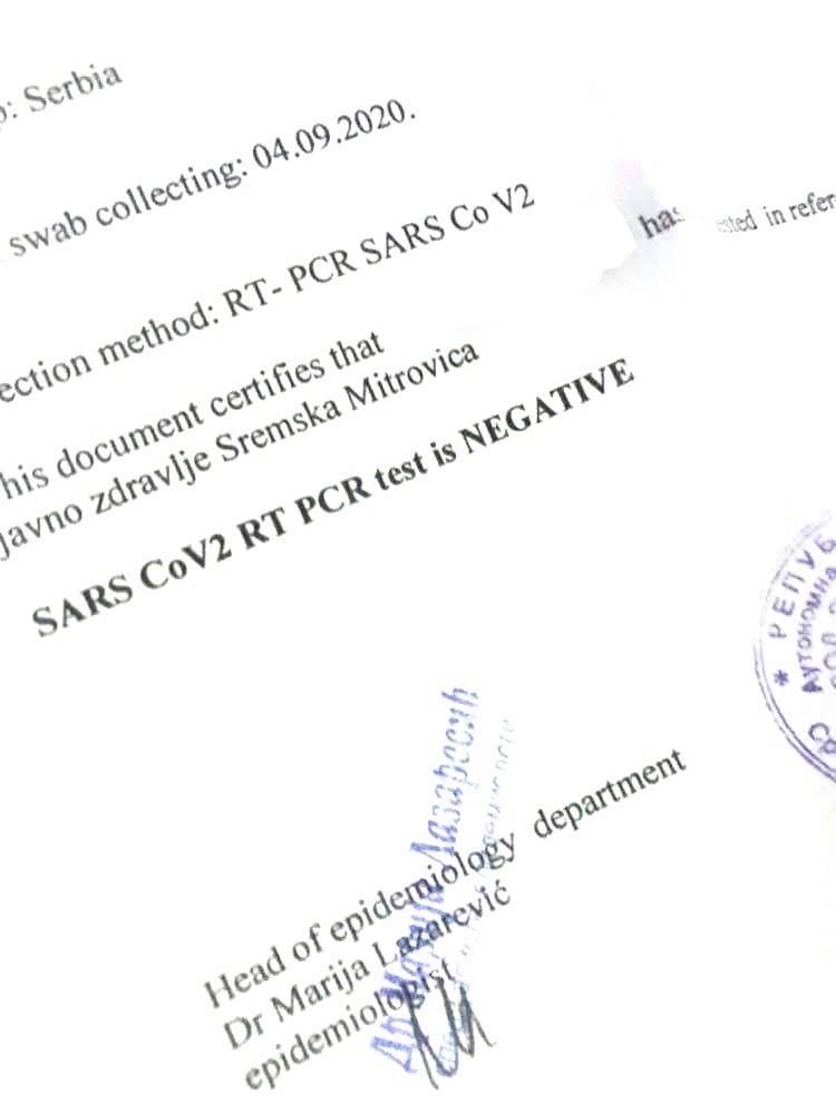 Izjednačena cena PCR testova za strance i naše građane – Ubuduće svi plaćaju 9.000 dinara