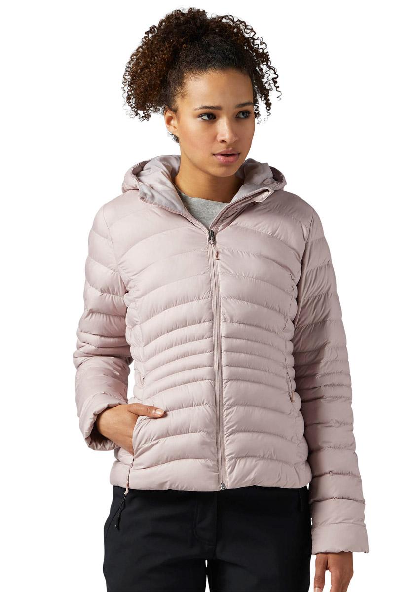 Куртка женская Reebok Od Bomber Dwnlk Jck, цвет: розовый. BR0509. Размер L (50/52)