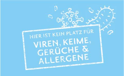 OZONOS Viren, Keime, Gerüche & Allergene