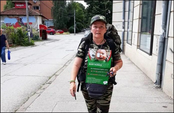 OVAKO SE VOLI SVOJA ZEMLJA: Humanitarno pešačenje za malog Vukana, krenula na put od 444 kilometara! 1