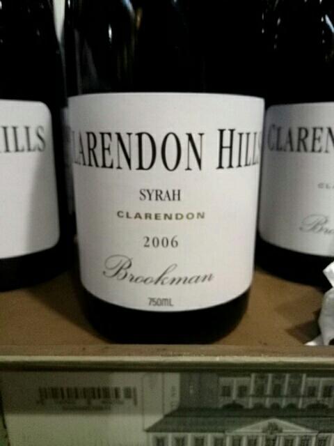 2006 Clarendon Hills Brookman Vineyard Syrah