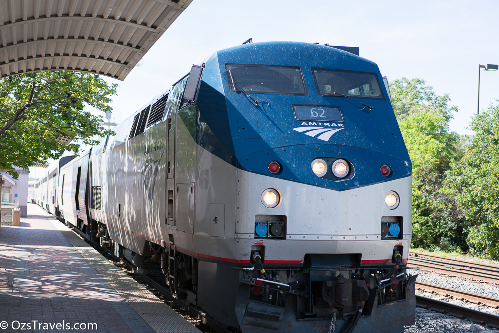 Amtrak Texas Eagle Dallas to Austin Texas