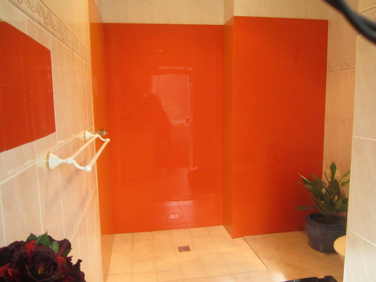 Acrylic Splashbacks For Showers And Bathrooms