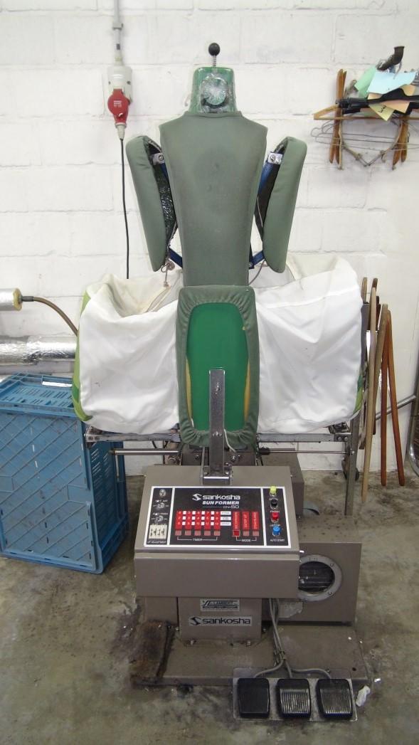 Complete laundry for sale lavander a completa en venta for Used sankosha shirt unit for sale