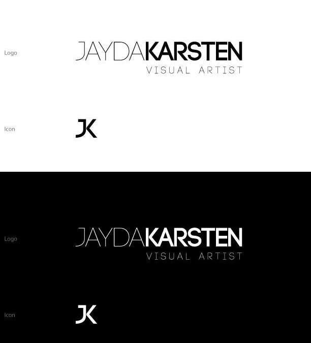 Log design Calgary, Jayda Karsten Visual Artist