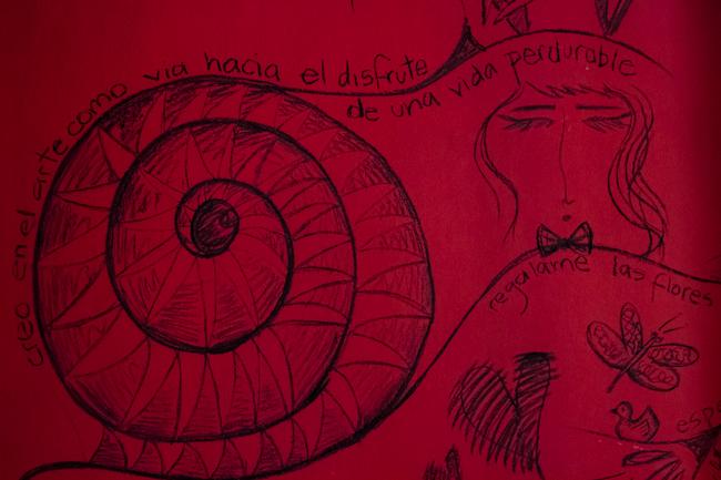 Dibujos de Maya en la Pared