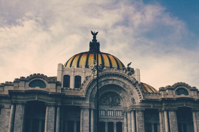 Palacio de Bellas Artes, México DF.
