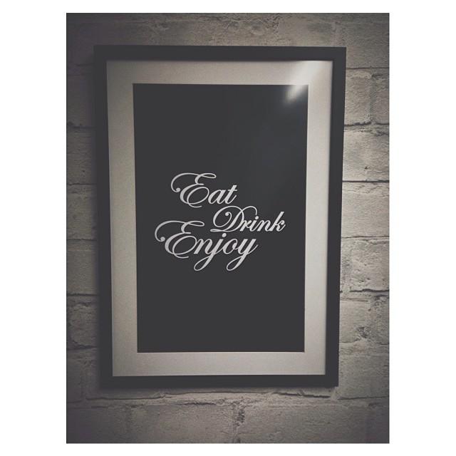 Eat, ...., enjoy