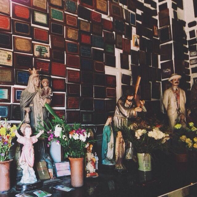 Altar y ofrendas