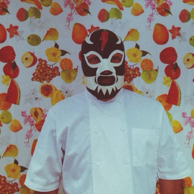 El Chef Pocho Gracés para Cocina para Luchadores