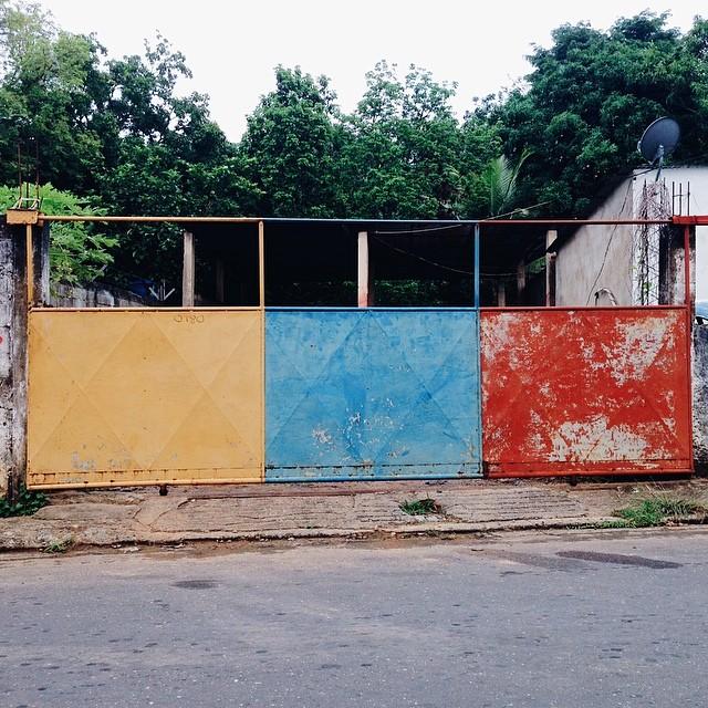 Portón Bandera