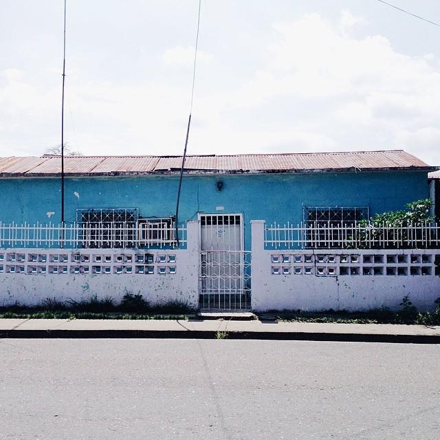 En Guanare les gustan las casas azules
