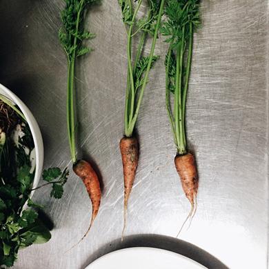 Tres zanahorias