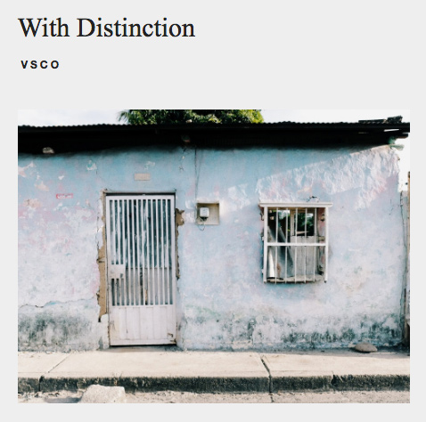 Casita – With Distinction