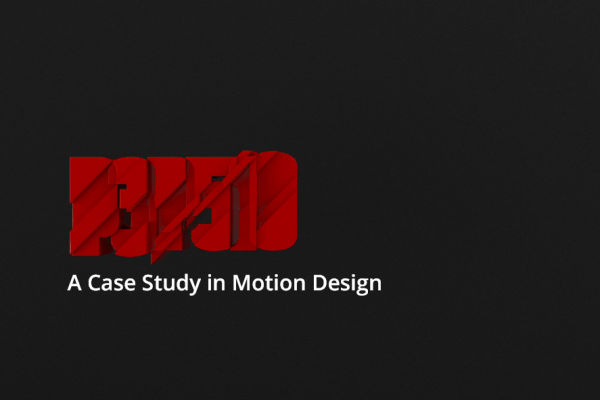 P3P510 – A Case Study in Motion Design