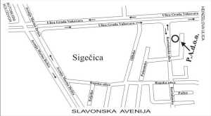 Mapa užeg područja