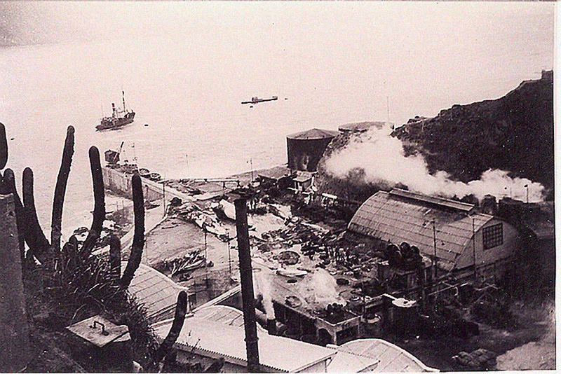 Quintay Shore Whaling Station 1946