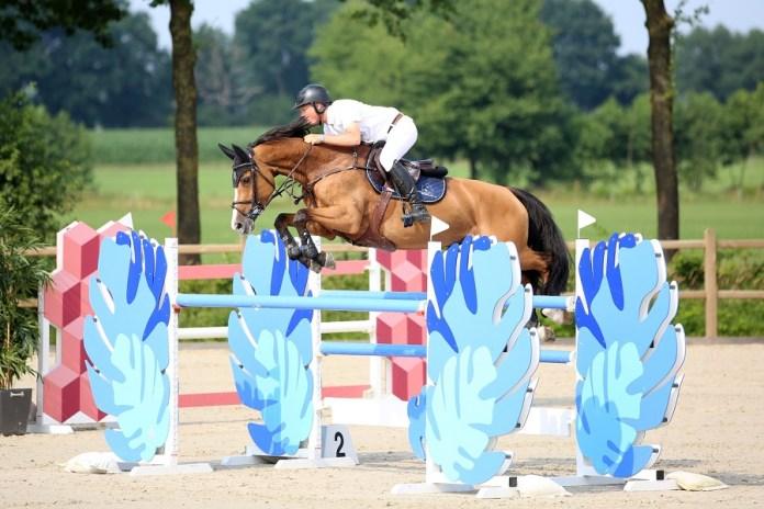 Willem Greve winnaar PSC Summer Jumping