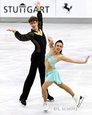 DM 2015 Jennifer URBAN und Sevan LERCHE
