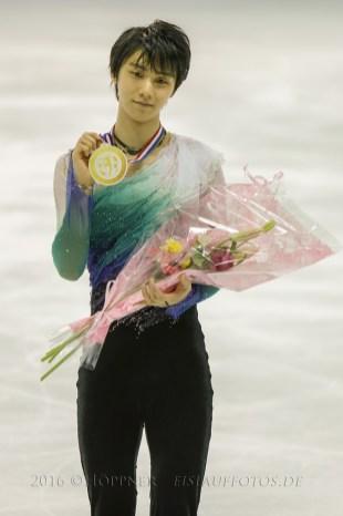 1. Yuzuru HANYU (JPN)