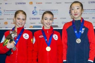 kleine WM-Medaillen - Juniorinnen