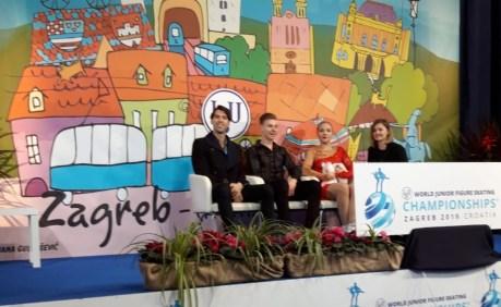 Taschlerova / Taschler aus Tschechien mit 51,02 Pkt im Finale.