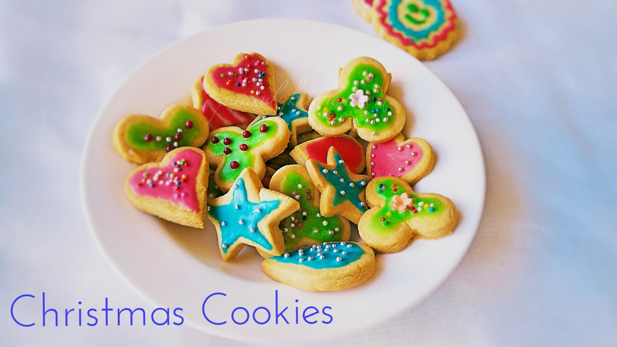Eggless Christmas Cookies With Royal Icing Sugar Cookies Paarul