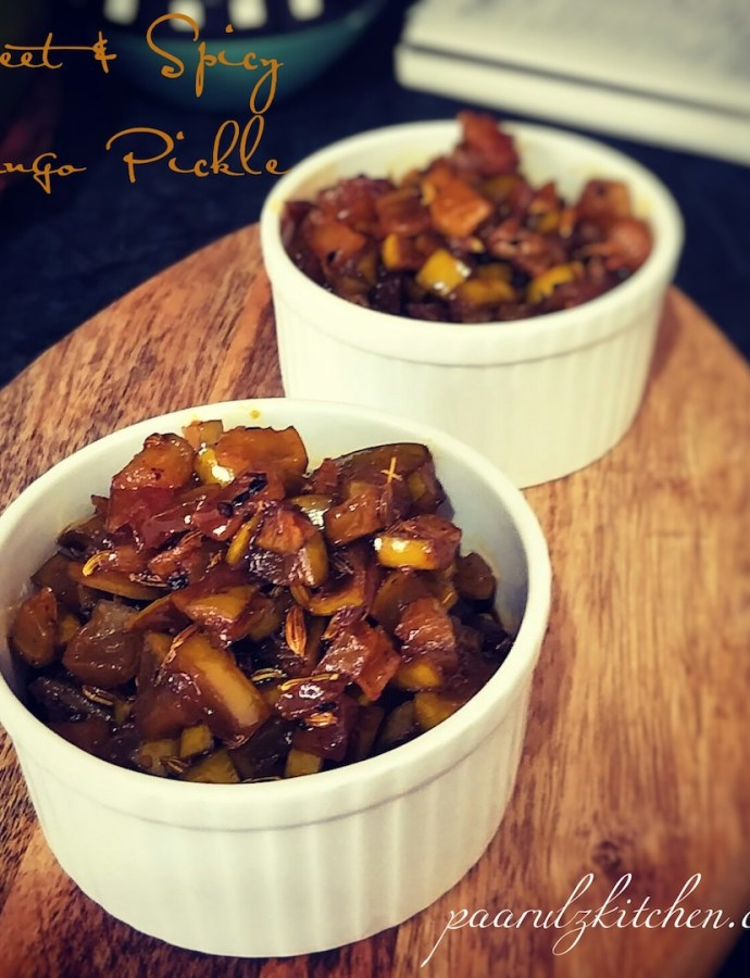 Sweet & Spicy Mango Pickle