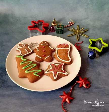 Wholewheat Gingerbread Cookies