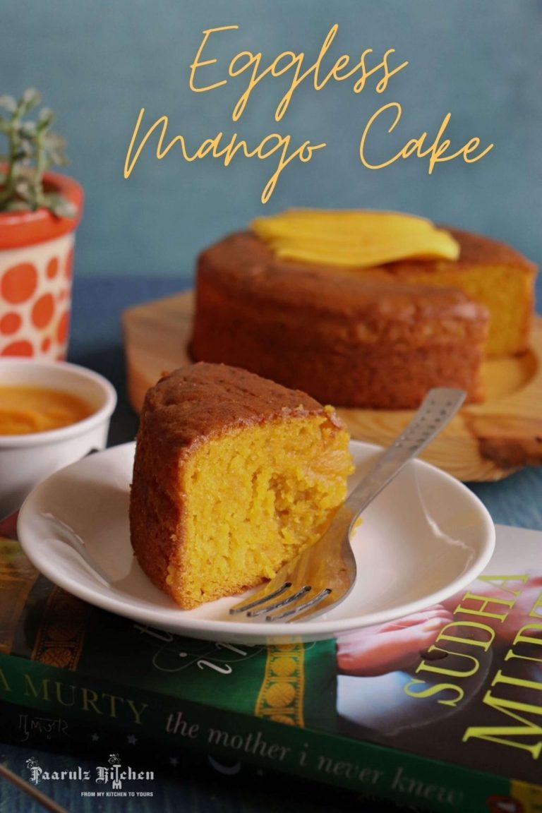 Read more about the article Eggless Mango Cake
