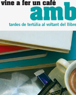 Design of brochures on coffee-talks in the public libraries of Barcelona