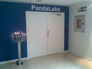 Entrada a los laboratorios de Panda Security