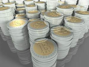 Pilas de bitcoins