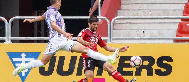 Fútbol: Mirandés – Real Valladolid