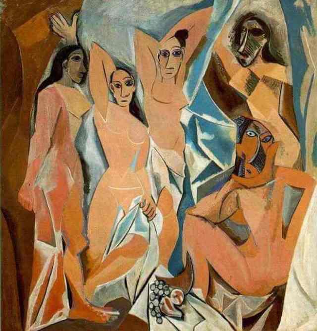 Image result for Les Demoiselles d'Avignon
