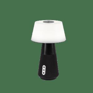 Lampe de table & Enceinte Bluetooth 1x SMD LED, 4,5W · 1x 600lm, 2700+4500+6500K NOIR DJ