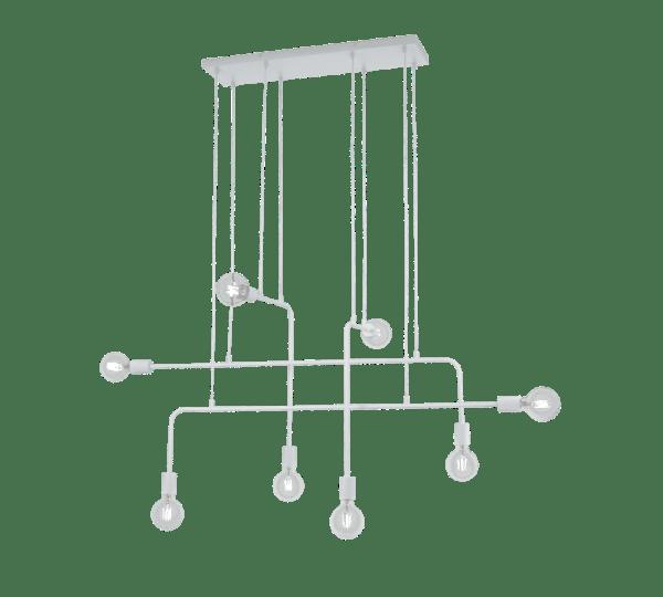 Suspension design moderne blanc CONNOR