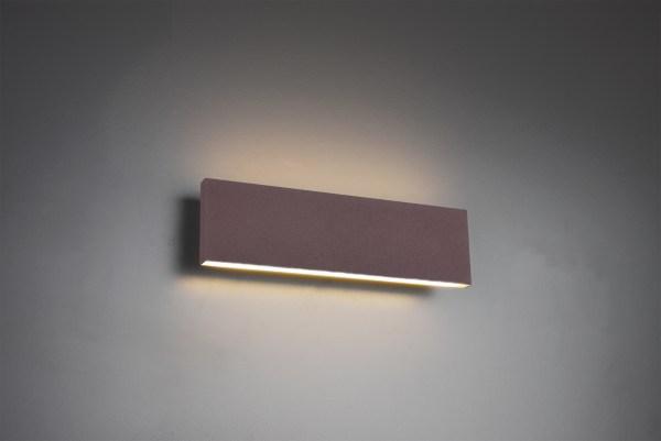 Applique murale métal SMD LED, 9W · 2x 900lm, 3000K, 28X8