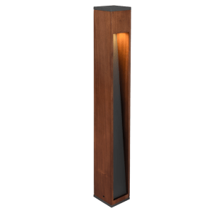 Grand Potelet en bois naturel Design, GU10