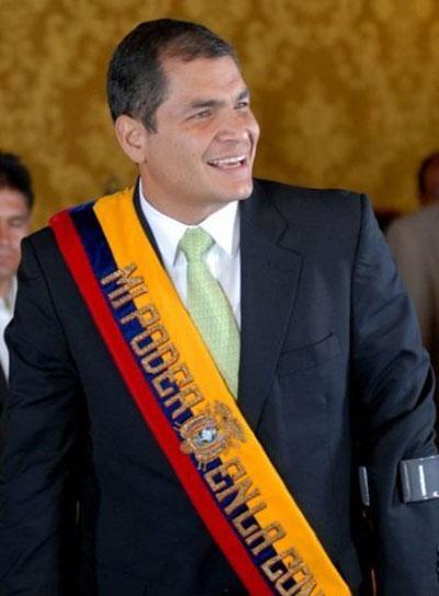 Imagen 4. Presidente Rafael Correa