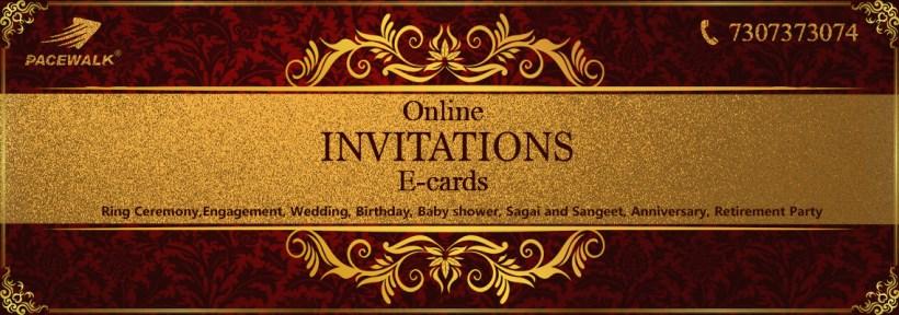 ring ceremony invitation card pacewalk - Online Invitation Card