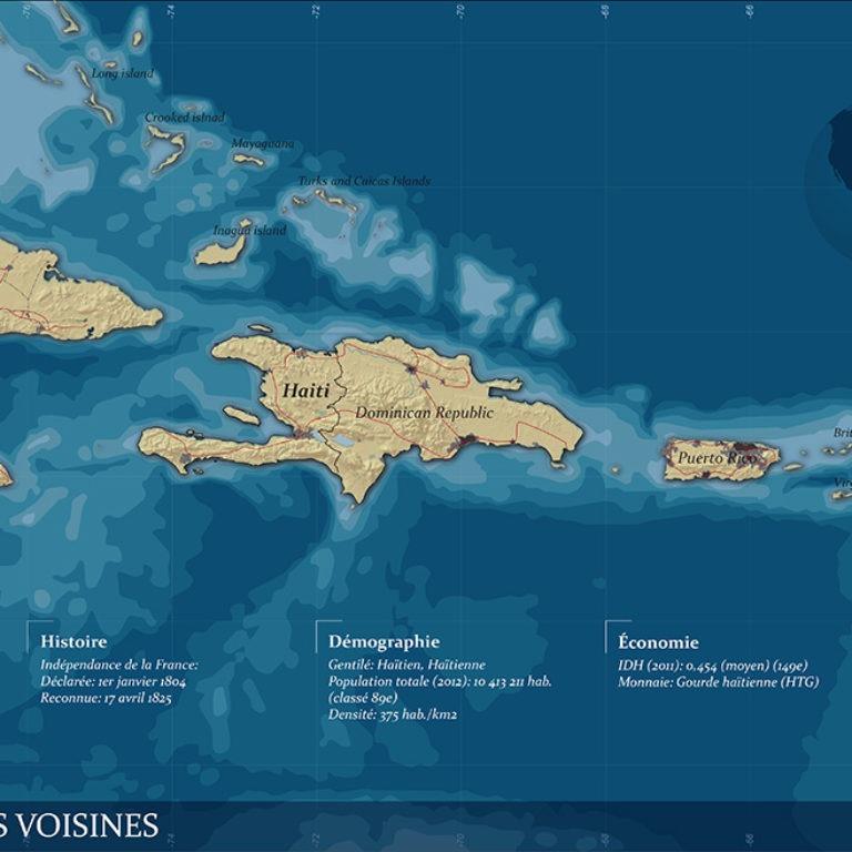 Carte finale haiti situation - Guillaume Sciaux - Cartographe professionnel