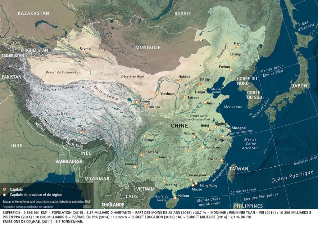 atlas-dessous-des-cartes-chine - Guillaume Sciaux - Cartographe professionnel