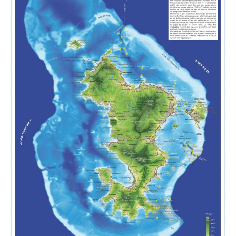 Mayotte - Guillaume Sciaux - Cartographe professionnel